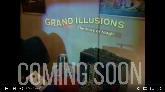 Aaron Paterson appears in the televised version of Grand Illusions on Discovery Channel