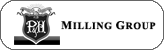 P and H Milling logo