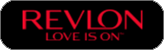 This image depicts the Revlon logo.