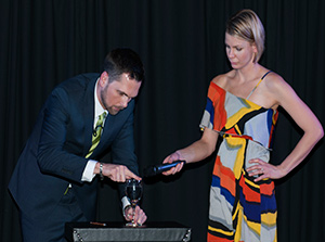 Aaron Paterson performs Corporate Entertainment in Hamilton for Tube Mac Piping Technologies.